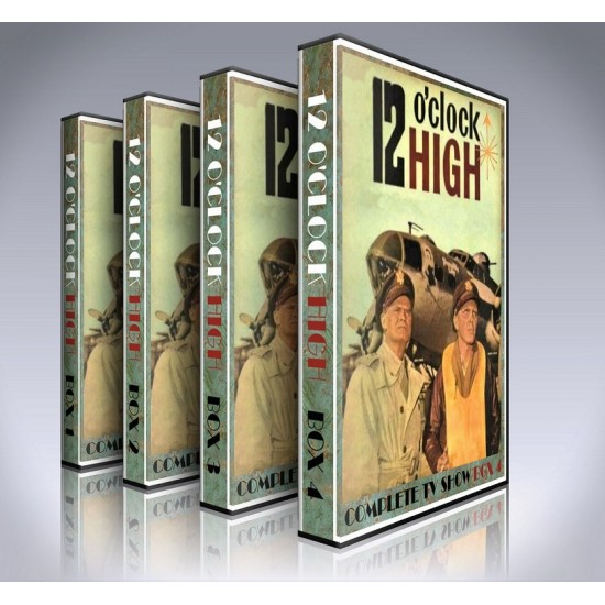 12 O'Clock High DVD - Seasons 1-3 - 1960s TV Series