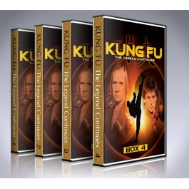 Kung Fu: The Legend Continues DVD Box Set - All 4 Seasons - Every Episode