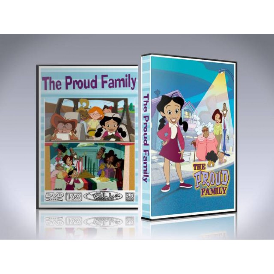 The Proud Family DVD - Complete Seasons 1-3
