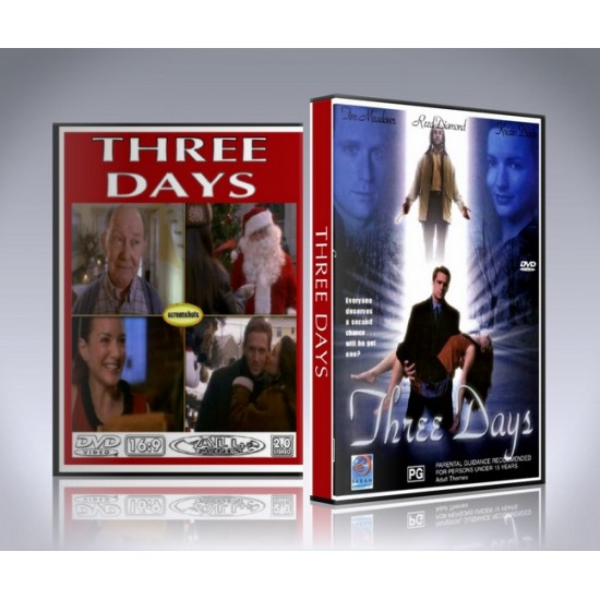Three Days DVD - 2001 -  CHRISTMAS MOVIE