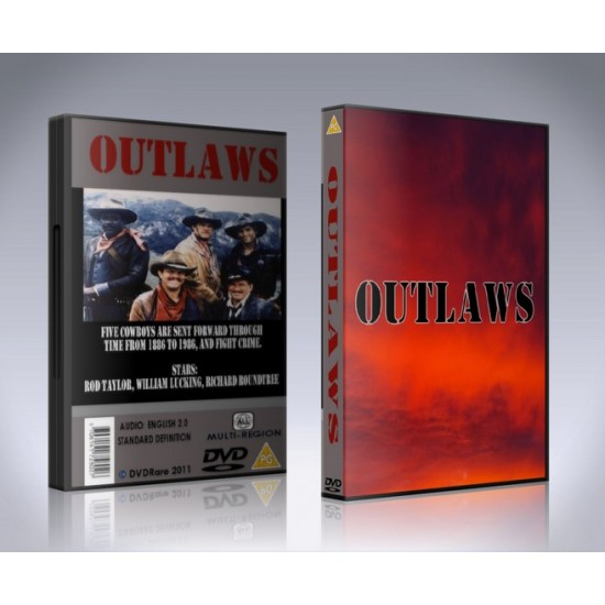 Outlaws DVD - TV Show - 1986