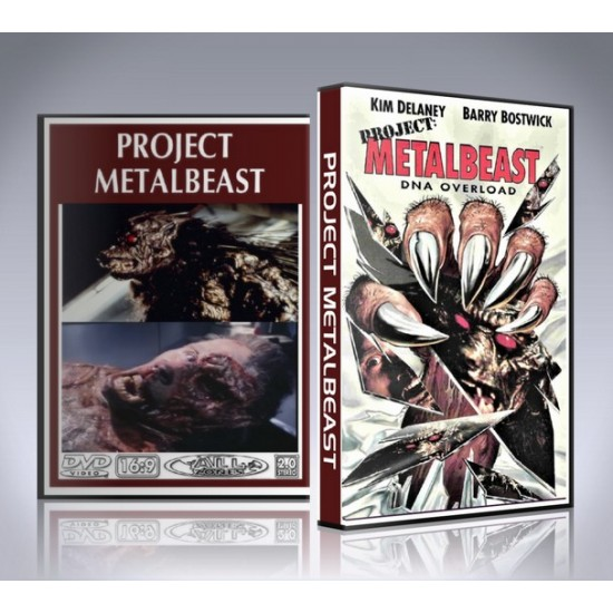 Project Metalbeast DVD - 1995 Movie