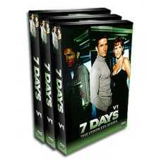 Seven Days DVD - 1998-2001 TV Show - Every Episode