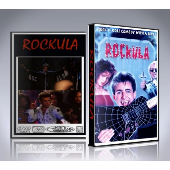 Rockula DVD - 1990 Musical Movie