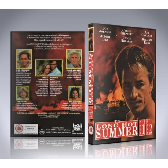The Long Hot Summer DVD - 1985 Movie - Don Johnson