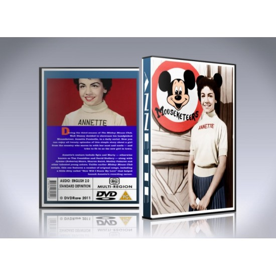Annette DVD: The Mickey Mouse Club