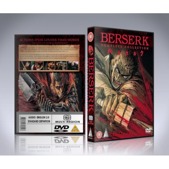 Berserk DVD - 1997 Anime - Complete Collection
