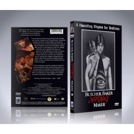 Night Warning: Butcher Baker Nightmare Maker DVD - 1982