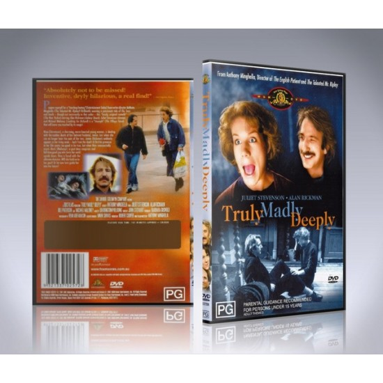 Truly Madly Deeply DVD - 1990 Alan Rickman FIlm