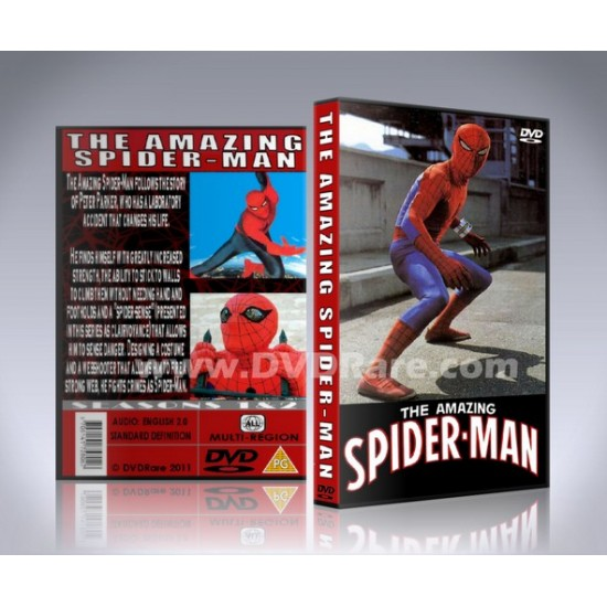 The Amazing Spider-Man DVD - 1977 - TV Show