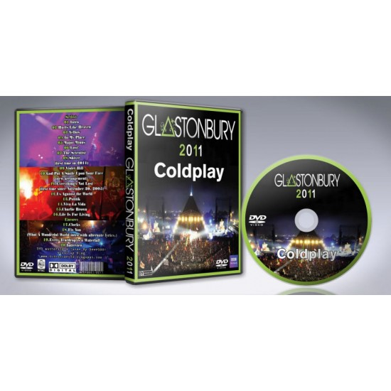 Coldplay Glastonbury 2011 DVD
