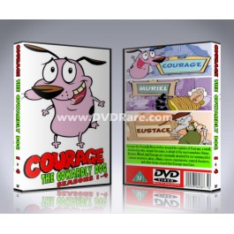Courage the Cowardly Dog DVD - Seasons 1 -4 - box set