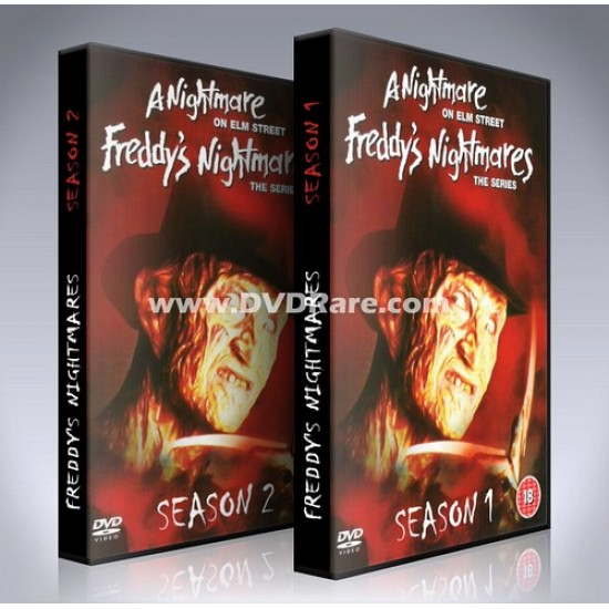 Freddy's Nightmares DVD - Seasons 1&2 - EVERY EPISODE!