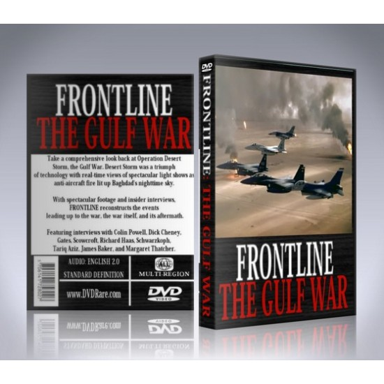 Frontline: The Gulf War DVD - 1996 Documentary PBS