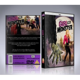 Girl Vs Monster DVD - Olivia Holt - 2012