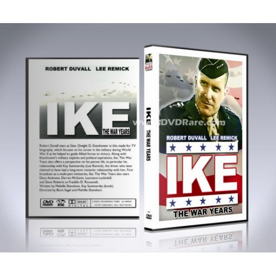 IKE, The War Years DVD - Robert Duvall - Dwight Eisenhower WW2