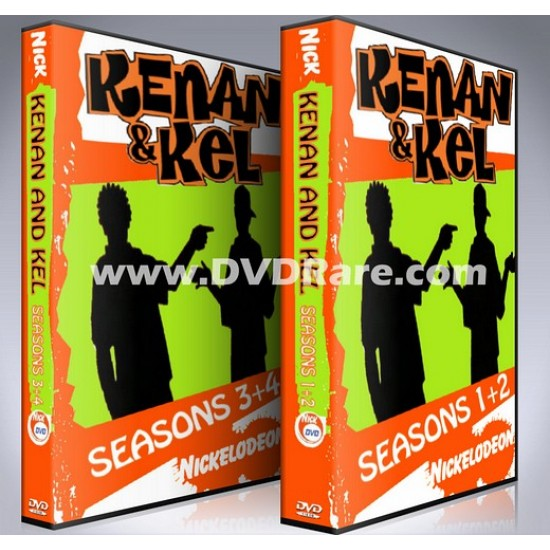 Kenan and Kel DVD - Seasons 1-4 Box Set - Nick