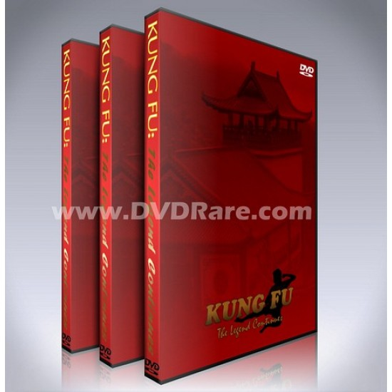 Kung Fu: The Legend Continues DVD - Seasons 1 to 4 - Complete Box Set