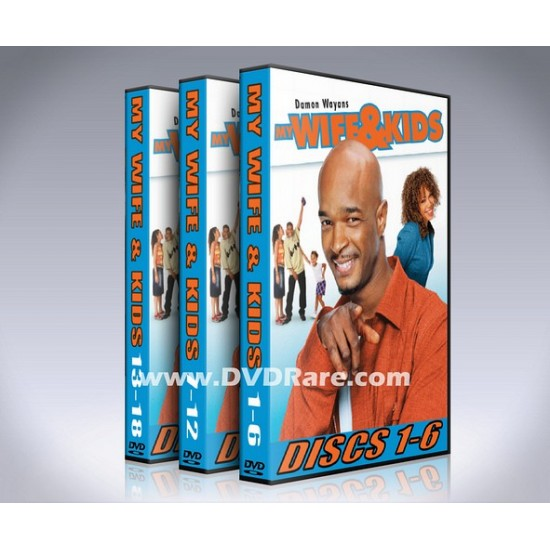 My Wife And Kids DVD - Seasons 1-5 - Damon Wayans Box Set