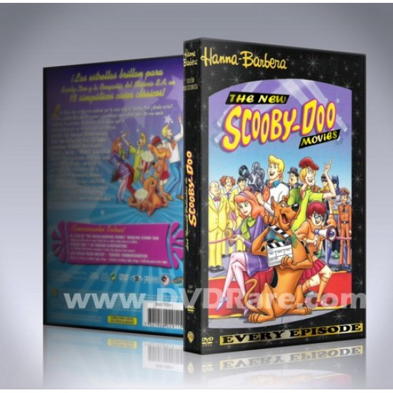 The New Scooby Doo Movies DVD - Every Episode - Complete Set