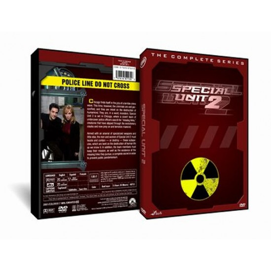 Special Unit 2 DVD - (2001) TV Show - Complete
