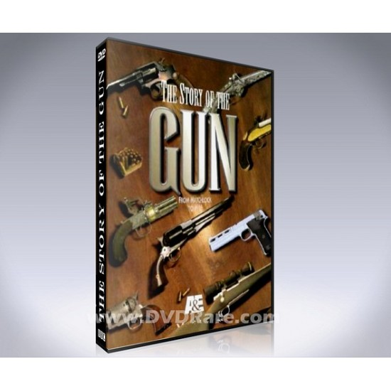 The Story of the Gun DVD - 1996 TV Documentary - A&E