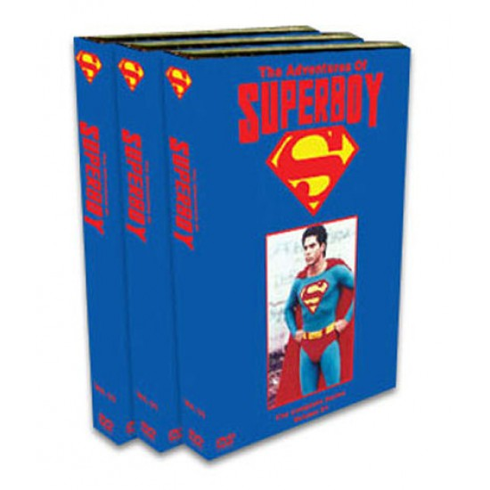 The Adventures of Superboy DVD - 1988 - Seasons 1-4 - Complete