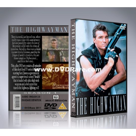 The Highwayman DVD -  TV Show - Sam J Jones