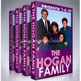 The Hogan Family DVD - Seasons 1-6 - Valerie Harper