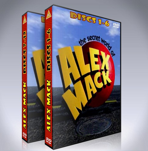 The Secret World of Alex Mack DVD - Seasons 1-4 - Nickelodeon