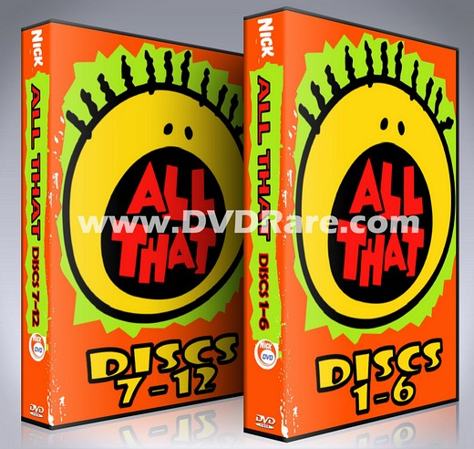 All That DVD - Nickelodeon - Seasons 1-7