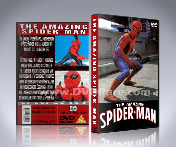The Amazing Spider-Man DVD - 1977 - Live Action - CBS