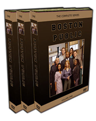 Boston Public DVD - Seasons 1-4 - Every Episode
