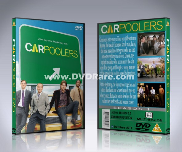 Carpoolers DVD - Complete Season 1 Set