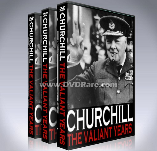 Winston Churchill The Valiant Years DVD -1961 ABC/BBC TV Series