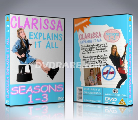 Clarissa Explains It All DVD - Seasons 1-5 - Nickelodeon