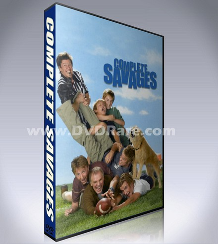 Complete Savages DVD Box Set - 2005 Sitcom - Every Episode!