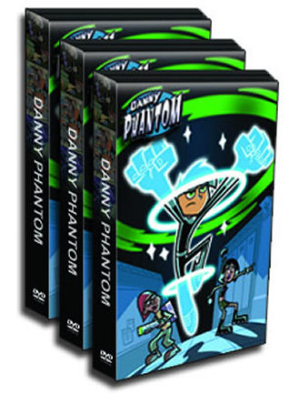 Danny Phantom DVD Box Set - Every Episode - Seasons 1-3