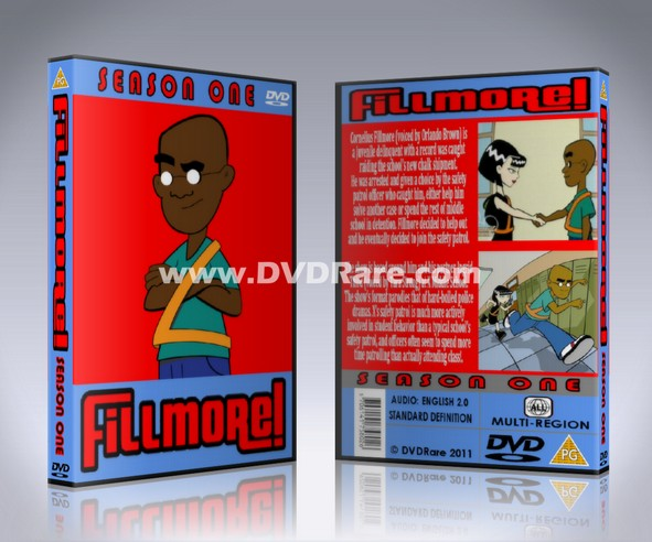 Fillmore! DVD Box Set - Disney Cartoon
