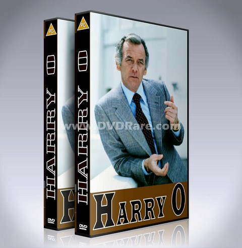 Harry O DVD - Complete - 1974 TV Show - David Janssen