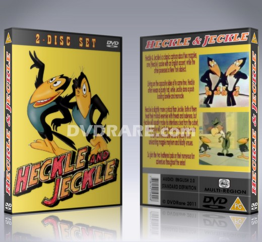 Heckle and Jeckle DVD - 1950s Cartoon