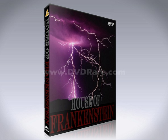 House of Frankenstein 1997 DVD - NBC TV Mini-Series