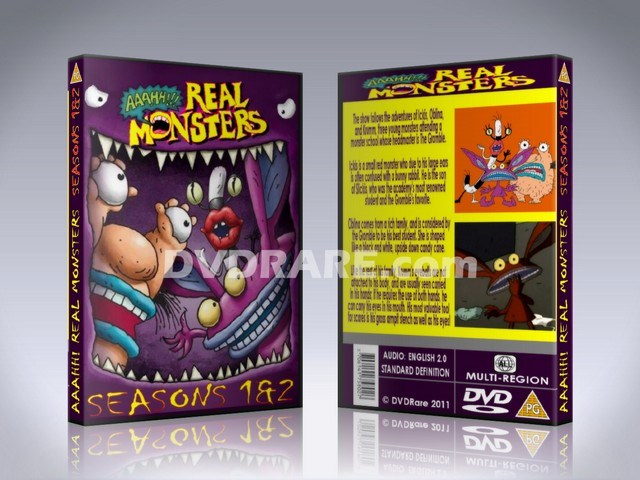 Aaahh!!! Real Monsters DVD - Seasons 1-4 - Nickelodeon