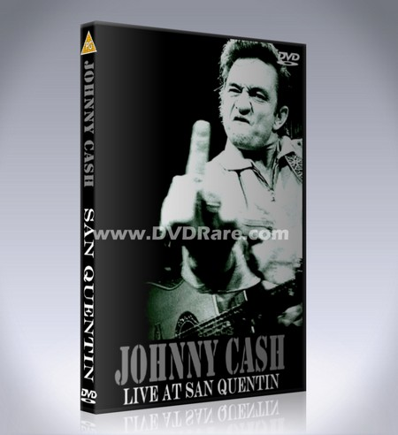 Johnny Cash Live in San Quentin DVD - 1969 - Prison Concert