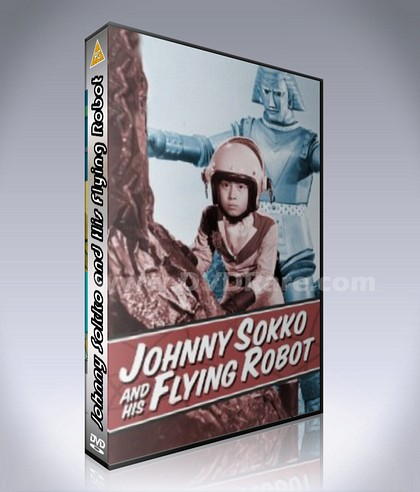 Johnny Sokko and His Flying Robot DVD - 26 Episodes Complete