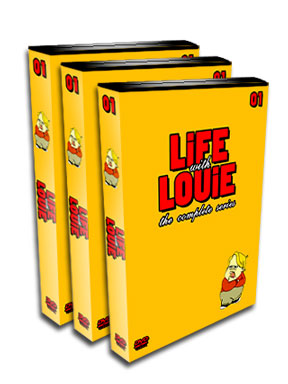 Life With Louie DVD Box Set - Complete TV Series - Anderson
