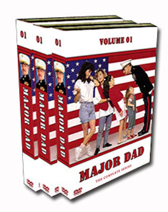 Major Dad DVD Box Set - Seasons 1-4 - Sitcom - 1989