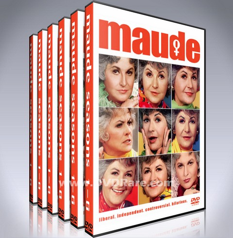 Maude DVD - Seasons 1-6 - Bea Arthur- 1970s Box Set