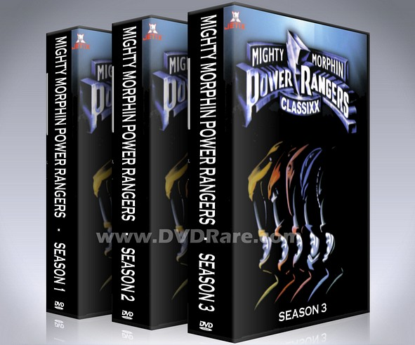 Mighty Morphin Power Rangers DVD - Seasons 1, 2 & 3