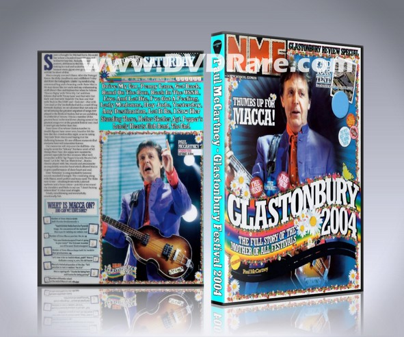 Paul McCartney Glastonbury DVD - Live 2004